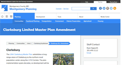 Preview of clarksburgplanning.org